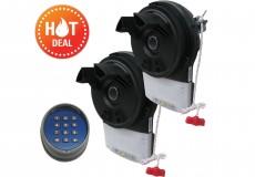2 x SAMT RGD500 Roller Door Motor Kit w/ Wireless Keypad