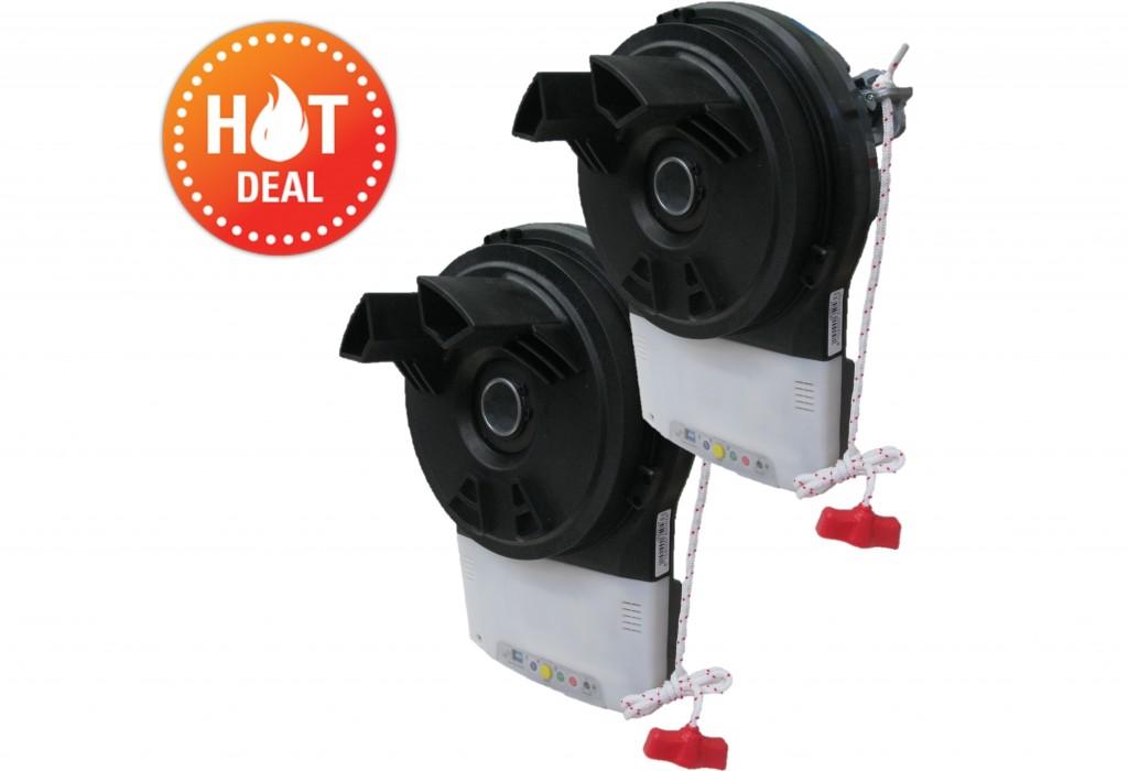 2 X Samt Rgd500 Roller Door Motor Kit Samtgatemotors