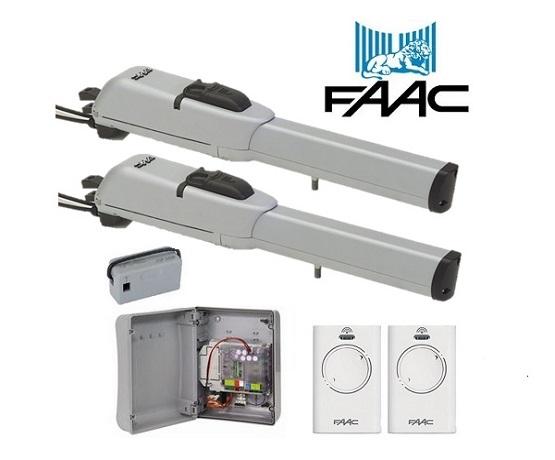FAAC 413 Double Electro-Mechanical 24V Swing Gate Motors