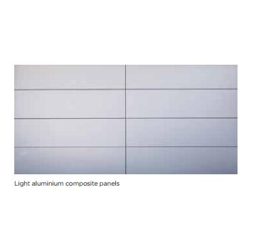 Light Aluminium composite panels