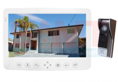 "10"" White Intercom Doorbell Camera Kit"