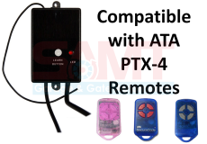 Universal Garage/Gate Wire-in Receiver suits ATA PTX-4 PTX4 Remote CRX-1 CRX-2