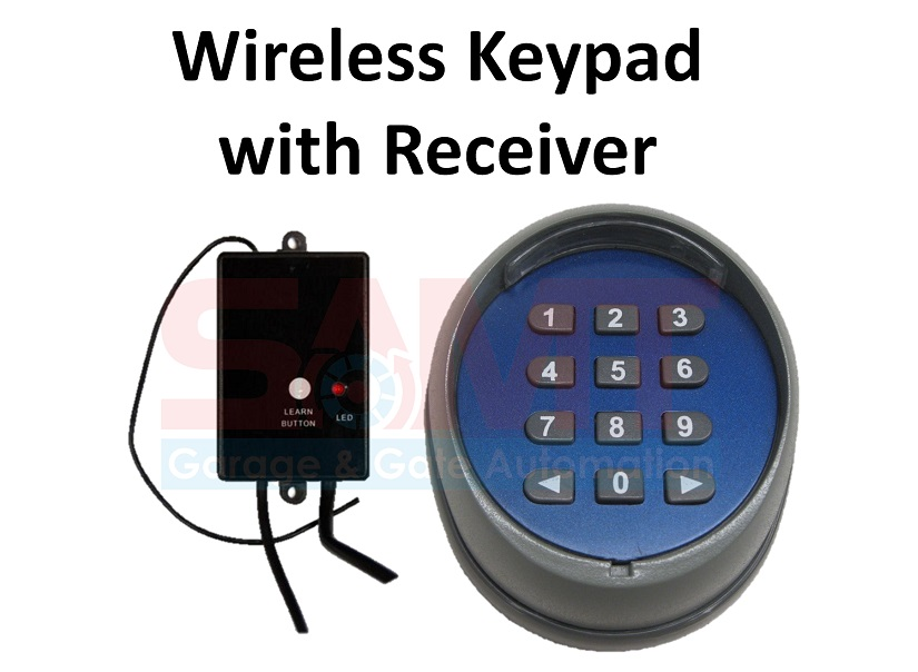 Garage Gate Wireless Keypad Number Pad Remote Entry Access