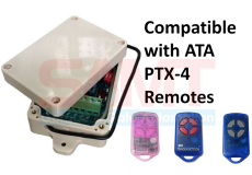Stand Alone 2-Channel Receiver replaces CRX-1 CRX-2 works with ATA PTX-4 Remote