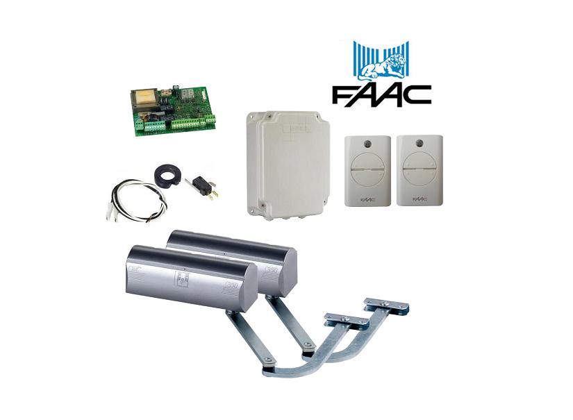 Faac 390 Double Swing Gate Opener Kit Samtgatemotors