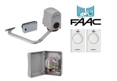 FAAC 391 24V Single Swing Gate Opener Kit