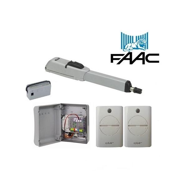Faac 415 230vac Single Swing Gate Operator Samtgatemotors