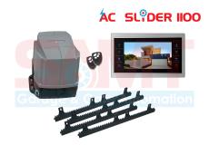 SAMT AC Slider Gate Motor with 10″ Intercom Silver
