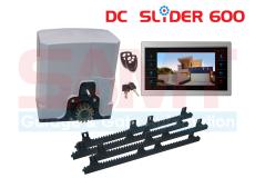 SAMT DC Slider Gate Motor with 10″ Intercom Silver