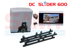 SAMT DC Slider Gate Motor with 7″ Intercom Silver