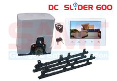 SAMT DC Slider Gate Motor with 7″ Intercom White