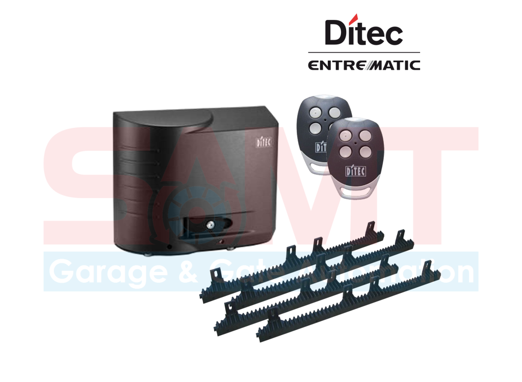 ditec cross 18 slide gate motor samtgatemotors. Black Bedroom Furniture Sets. Home Design Ideas