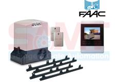 FAAC 740 Slide Gearmotor Kit with 4″ Intercom