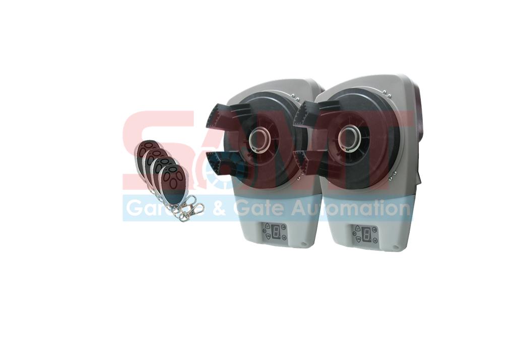 2x Roller Garage Door Motor Opener Automatic With 4 X