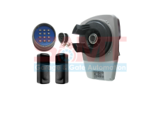 Roller Garage Door Motor Opener Automatic with 2 x Remotes, Keypad and Sensors