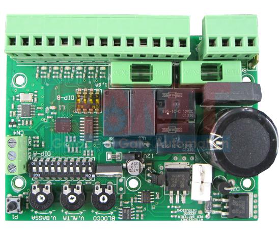 12 24v Dc Control Board For One Motor Samtgatemotors
