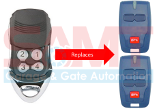 1 x BFT Compatible Garage/Gate Remote Transmitter: B RCB2 B RCB TX2 TX4 0678