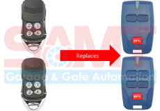 2 x BFT Compatible Garage/Gate Remote Transmitter: B RCB2 B RCB TX2 TX4 0678