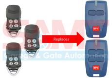 3 x BFT Compatible Garage/Gate Remote Transmitter: B RCB2 B RCB TX2 TX4 0678