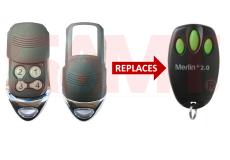Merlin E945 E950 E943 + 2.0 Replacement Remote
