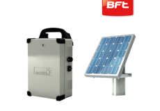 BFT ECOSOL Solar Panel and Control Unit