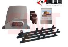 LIFE Acer AC6/AC6R Slide Gate Motor Kit with 4″ White Intercom