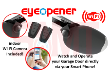 Eye Opener Sectional Garage Panel Door Opener 1000N Motor with Wi-Fi Camera