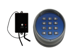 Garage Gate Wireless Keypad Number pad remote Entry Access with Receiver