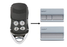 Merlin C940 C943 Replacement Remote